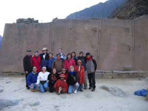 Top of Ollantaytambo