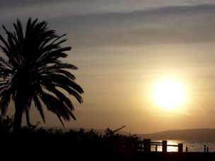 Sunset on Paracas Bay